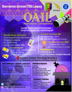 Astronomy Competition 2017