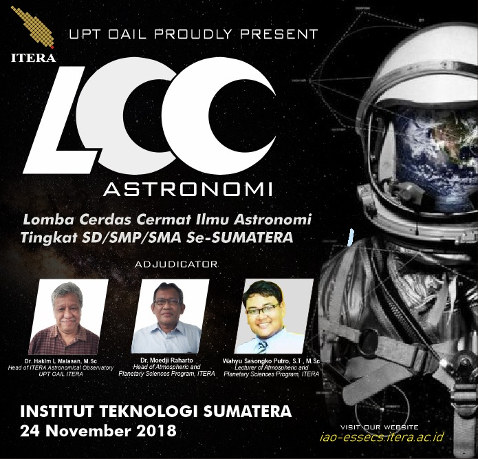 OAIL akan Gelar Astronomy Competition pada 24 November 2018