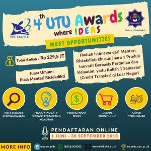 Universitas Teuku Umar Awards