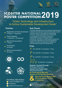 Icositer National Poster Competition 2019