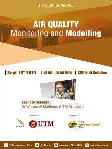 Studium Generale Air Quality Monitoring and Modelling